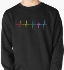 Regenbogen Puls Hearbeat LGBT Sweatshirt
