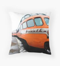 Hiawatha Line. Throw Pillow