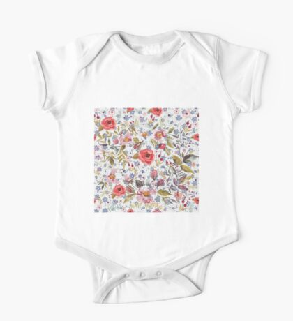 Sea of Floral Kids Clothes