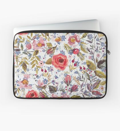 Sea of Floral Laptop Sleeve