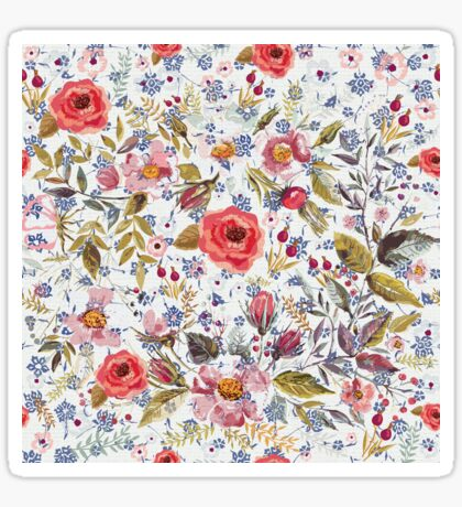 Sea of Floral Sticker