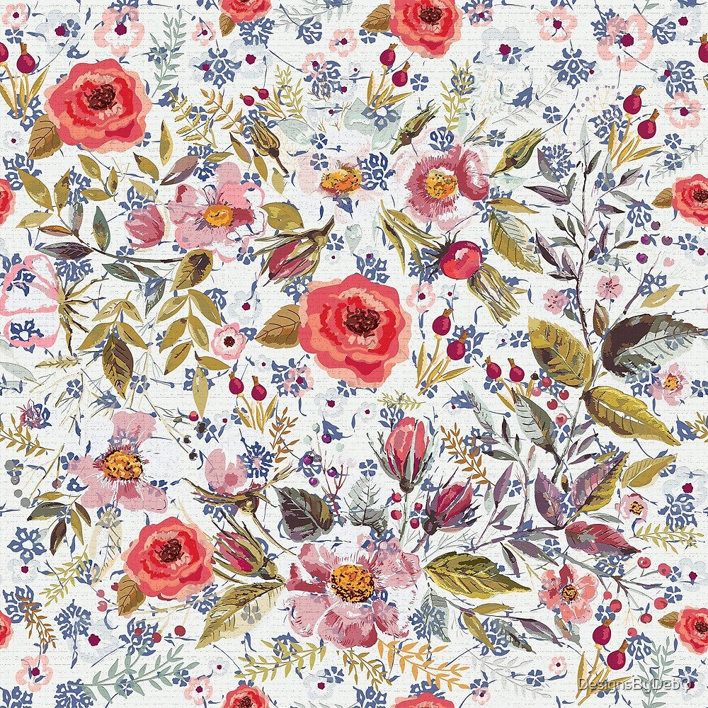 Sea of Floral by DesignsByDebQ