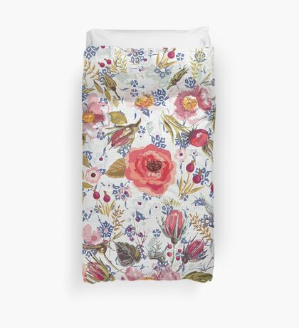 Sea of Floral Duvet Cover
