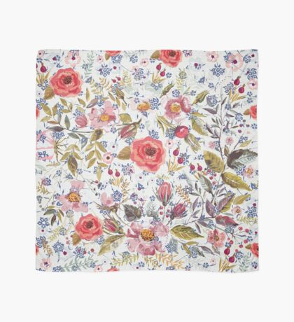 Sea of Floral Scarf
