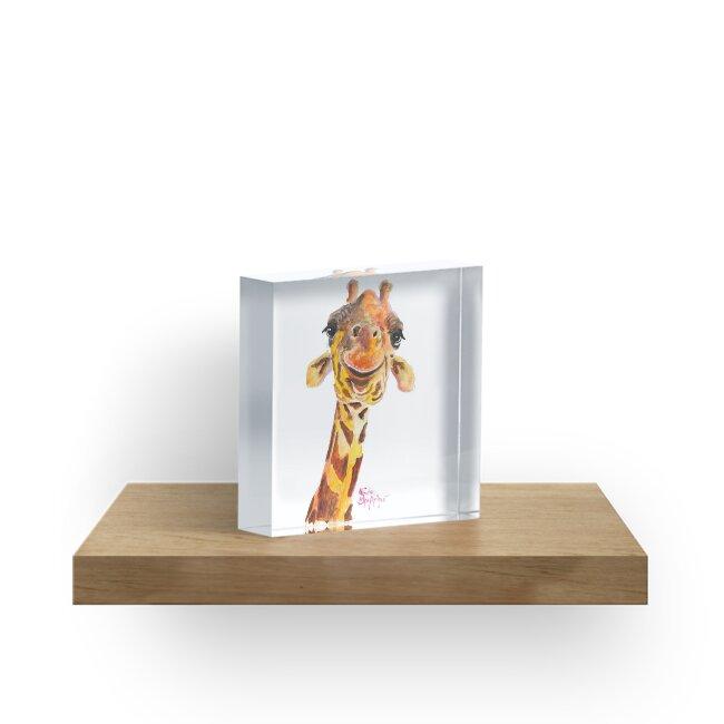 Nosey Giraffe ' Jo ' by Shirley MacArthur by Shirley MacArthur