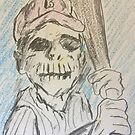 The Eternal Baseball Player by CoalSpeaker