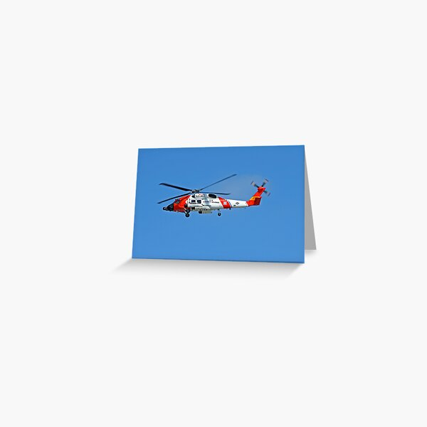HH60J JayHawk Greeting Card