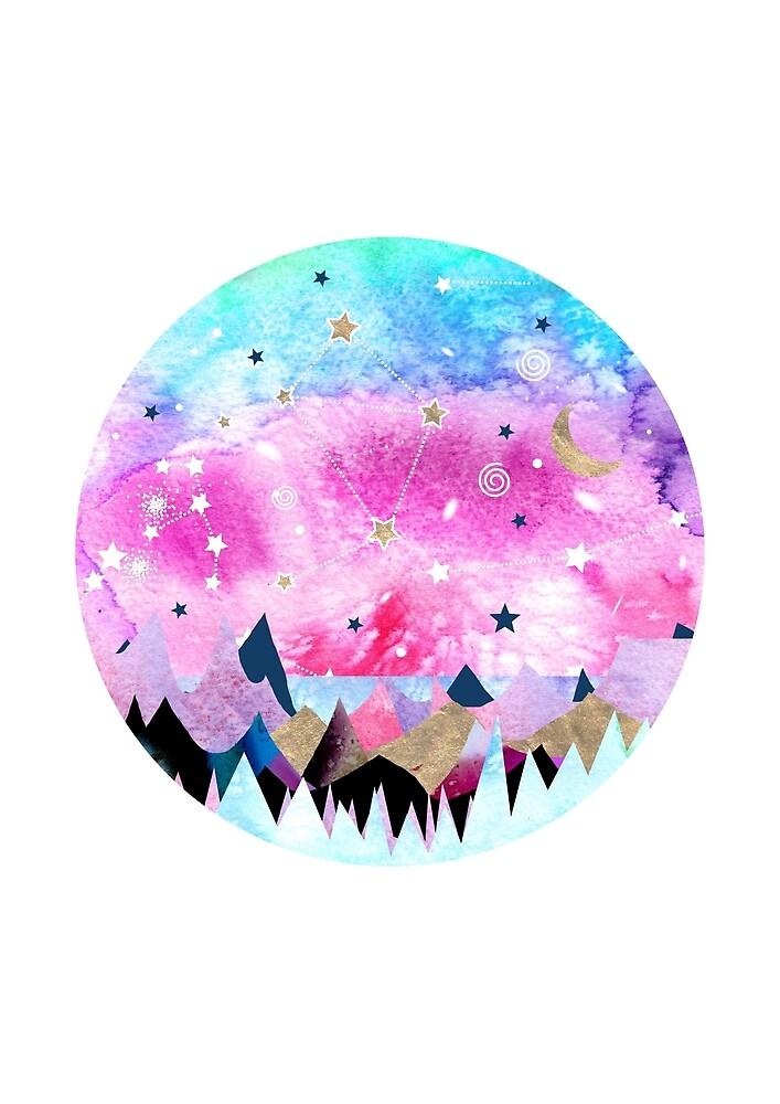 Libra Constellation by Emery Smith