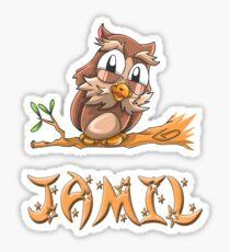 Jamil Owl Sticker