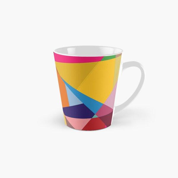 Creative Geometry rainbow triangles Tall Mug