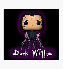 BTVS - Dark Willow Photographic Print