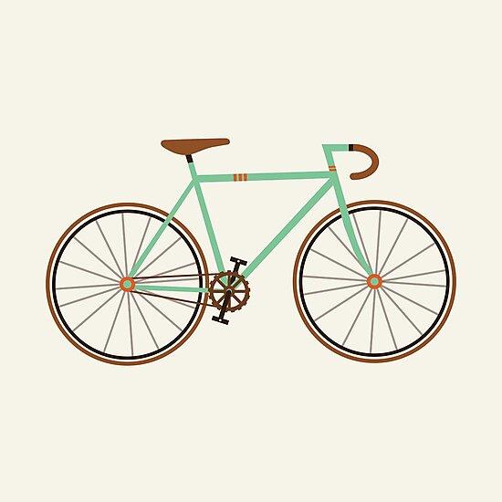 Green Fixie by KarinBijlsma