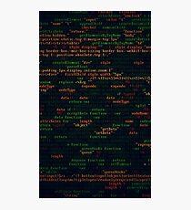Coding Photographic Print