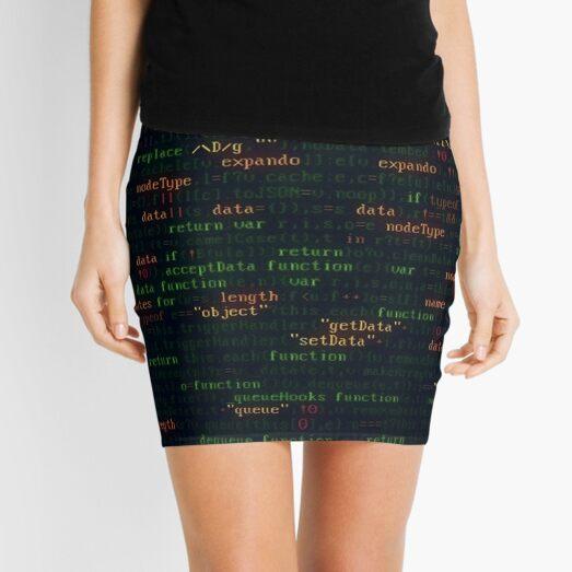 Coding Mini Skirt