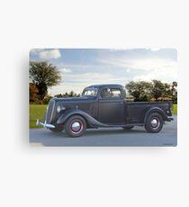 1937 Ford V8 Pickup Truck I Canvas Print