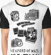 Weapons Of Mass Creation - Photography (clean) Graphic T-Shirt