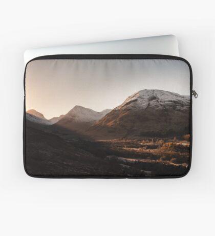 Glen Coe Sunrise Laptop Sleeve
