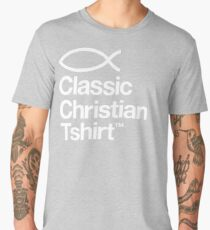 Classic Christian T-shirt Men's Premium T-Shirt