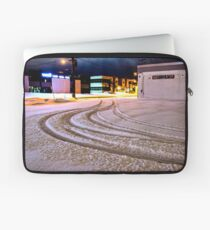Tracks in the Snow Laptop Sleeve