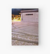 Tracks in the Snow Hardcover Journal