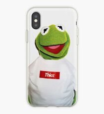 Supreme Kermit Thicc Shirt iPhone Case
