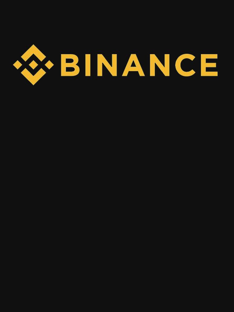 Binance T-Shirt - Crypto Shirt - Binance Shirt by NativOrganics