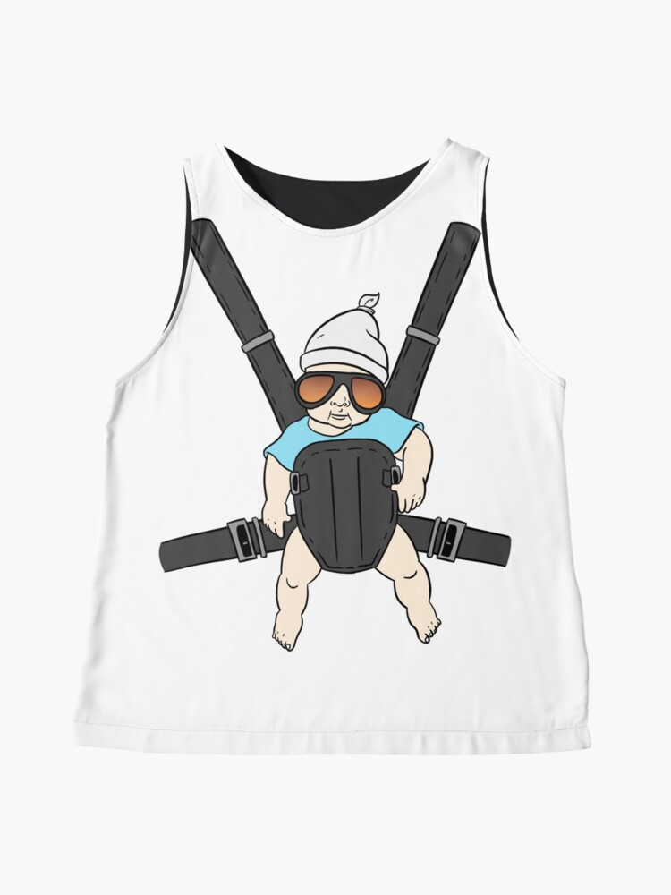 Alternate view of Hangover Baby Tshirt - Alan & Bjorn - Hangover The Movie Sleeveless Top