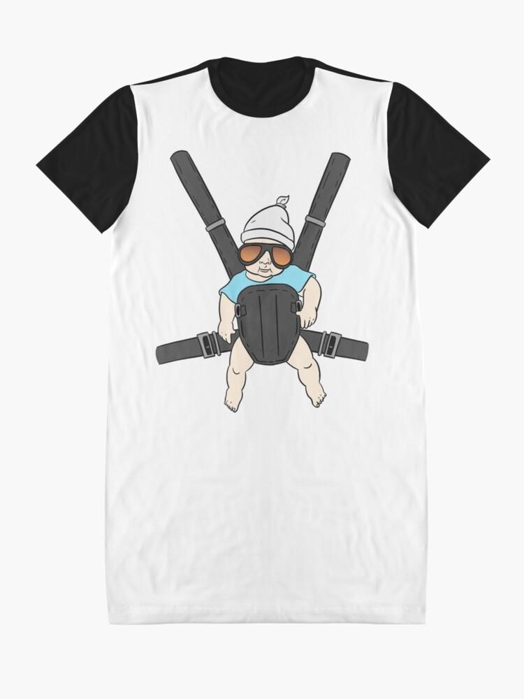 Alternate view of Hangover Baby Tshirt - Alan & Bjorn - Hangover The Movie Graphic T-Shirt Dress