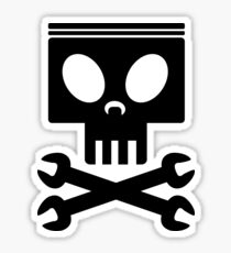 Jolly Wrenches - Planes Sticker