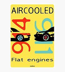 Aircooled flat engines 5 Photographic Print