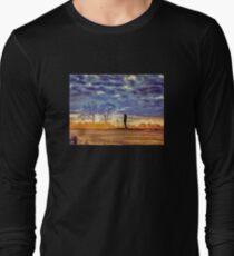 Sunset Contemplation Long Sleeve T-Shirt