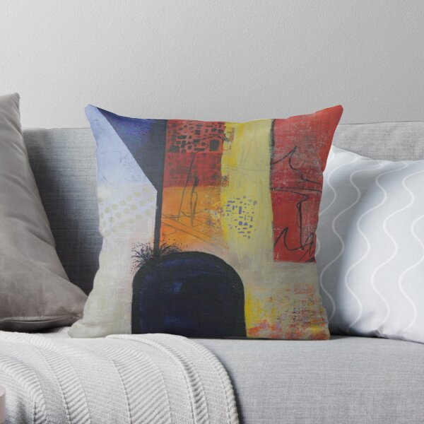 Overflowing Throw Pillow