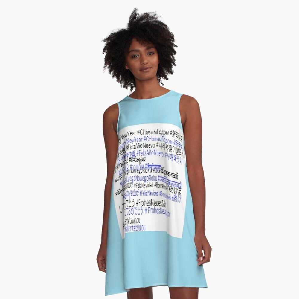 #HappyNewYear #СНовымГодом A-Line Dress