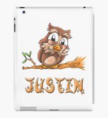 Justin Owl iPad Case/Skin