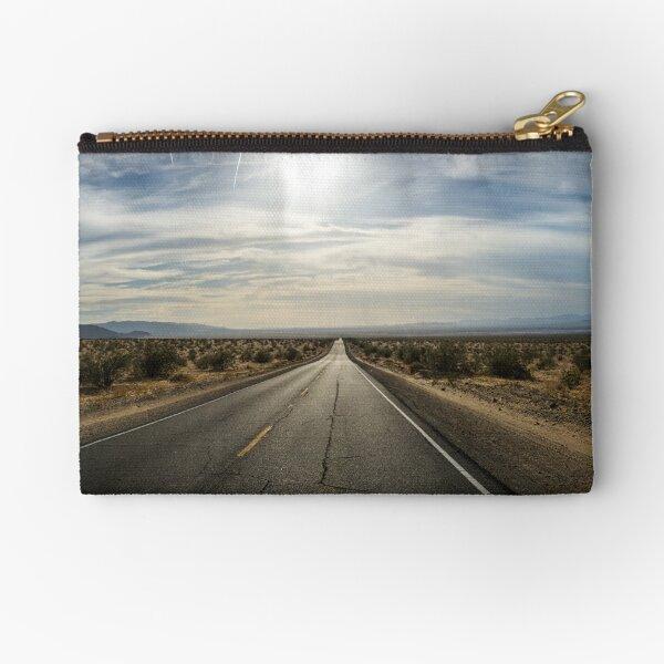 Desert Road Zipper Pouch