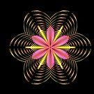 Fractal Tropical Flower by Vitta