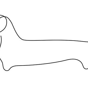 Wiener Dog by Spncr
