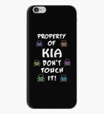 Property of Kia iPhone Case