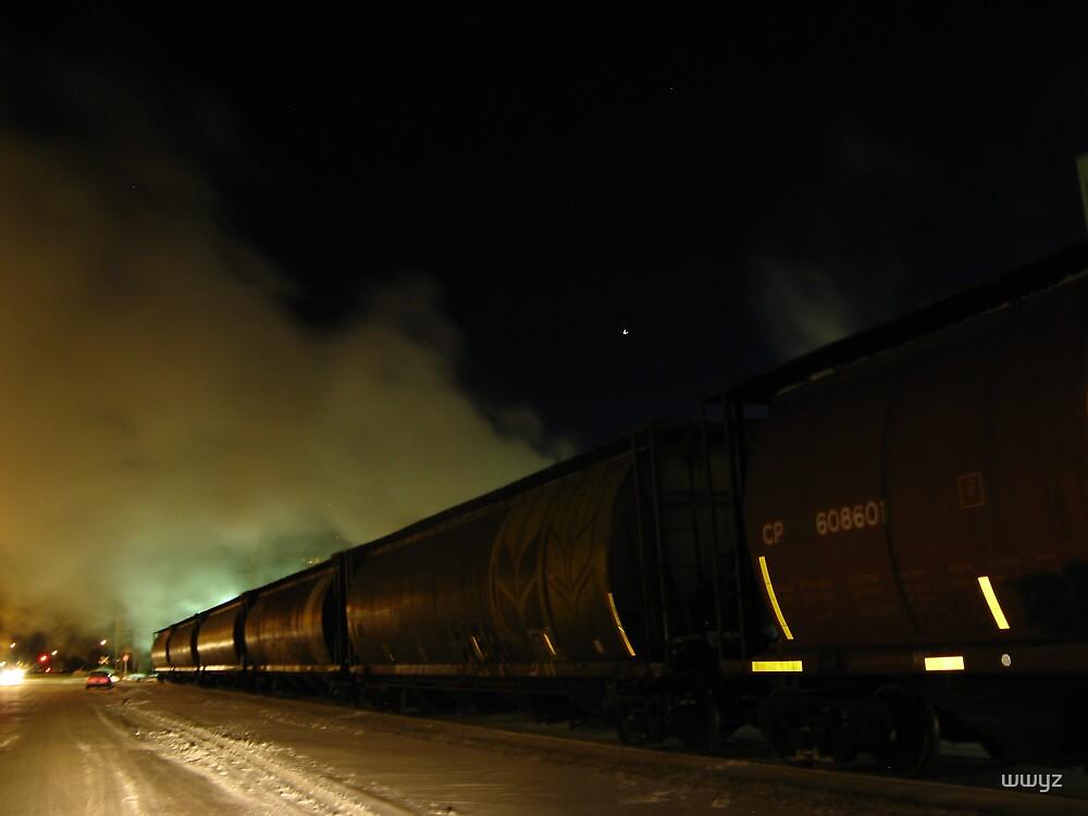 Night Steam by wwyz
