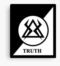 TRUTH - MONKS Canvas Print