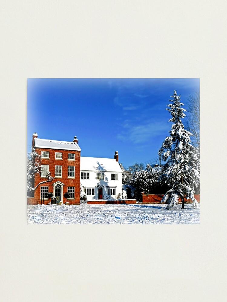 Alternate view of  Wondrous Winter Photographic Print