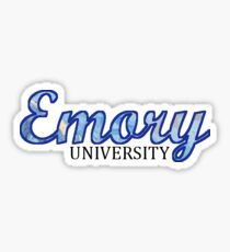 Emory Sticker