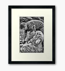 Click Go The Shears #1 Framed Print