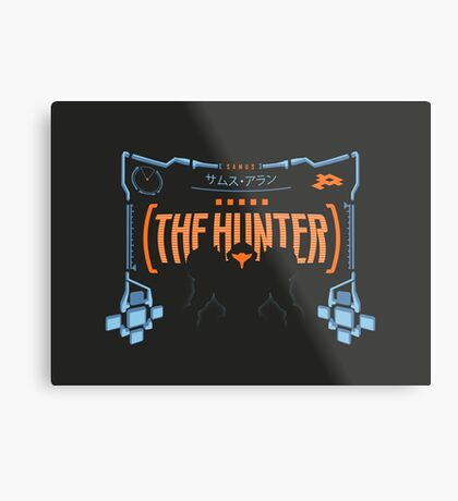 The Hunter Metal Print