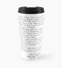 Letter from the Refuge Travel Mug