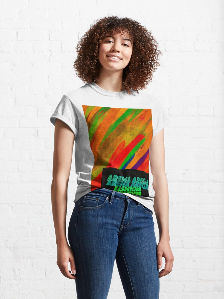 """Alternate view of Bring """"Color"""" to your Life Classic T-Shirt"""