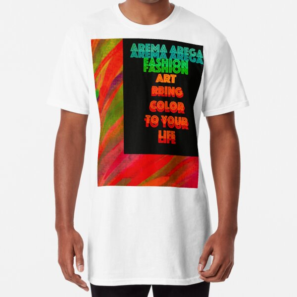 "Trae ""Color"" a tu vida Camiseta larga"