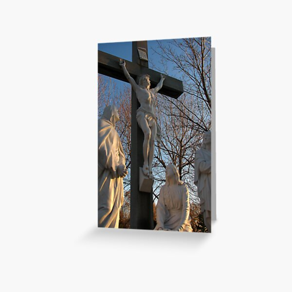 Jesus and Mother Mary Greeting Card