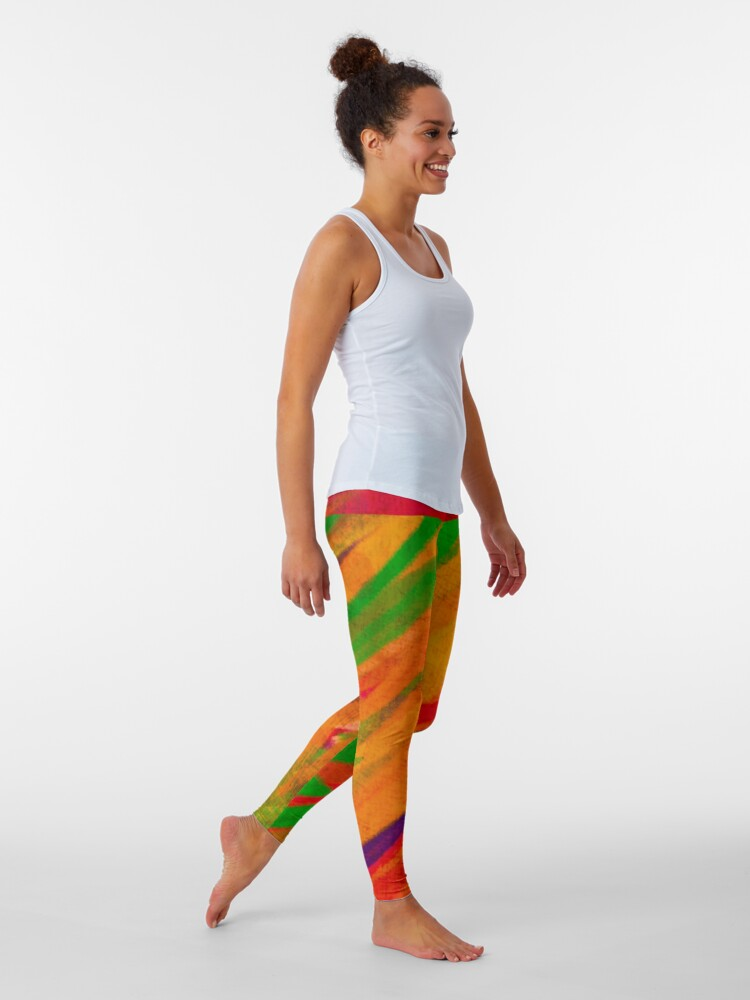 """Alternate view of Bring """"Color"""" to your Life Leggings"""