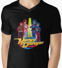 Henry Danger Secret Identities Men's V-Neck T-Shirt